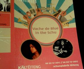 Vache de blues in the schu featuring Chris Bergson, Kyla Brox and The Trick