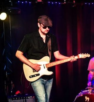 Florent Plataroti Guitars The Trick, Rock Band, Luxembourg, France, music, alternative rock