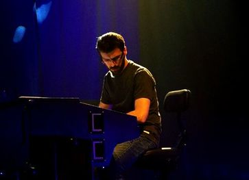 Sergio Rodrigues Keyboards The Trick, Rock Band, Luxembourg, France, music, alternative rock